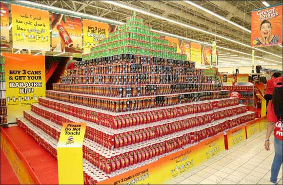 Pringles Breaks Guinness World Record for 'Largest Can Pyramid'