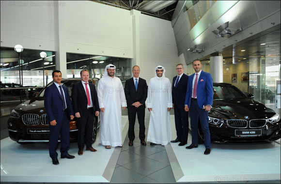 BMW Group's Senior Vice President of Importer Regions visits the Middle East