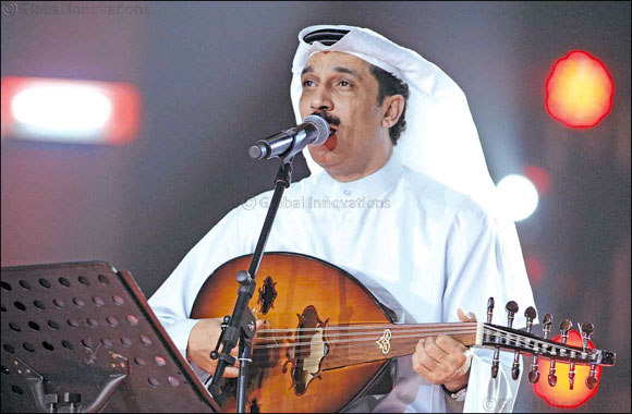 Global Village hosts the beloved Kuwaiti singer Abdallah Al Ruwaished