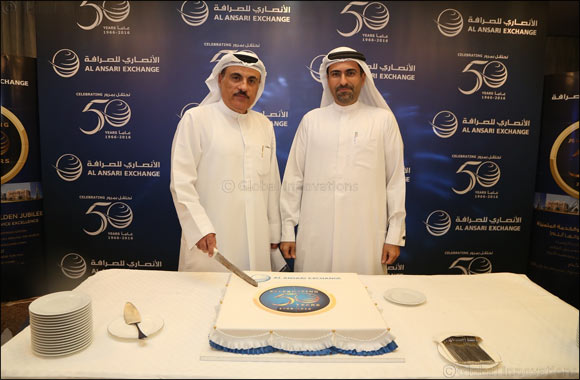Al Ansari Exchange pledges AED 50 million donation to various charities in commemoration of its  Golden Jubilee