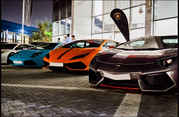 Lamborghinis past and present gather at Lamborghini Kuwait