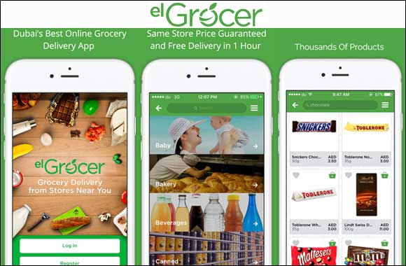 First Brand and Grocery Delivery Service Partnership in the Middle East