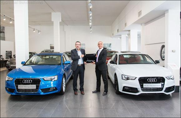 Audi Kuwait's Ahmad Fathallah named Audi Customer Champion of the Year