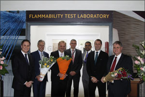 First Commercial Flammability Test Lab Launched in the Middle East.