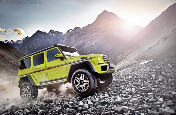 The G 500 4x4² now available at Mercedes Kuwait