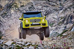 The G 500 4x4� now available at Mercedes Kuwait