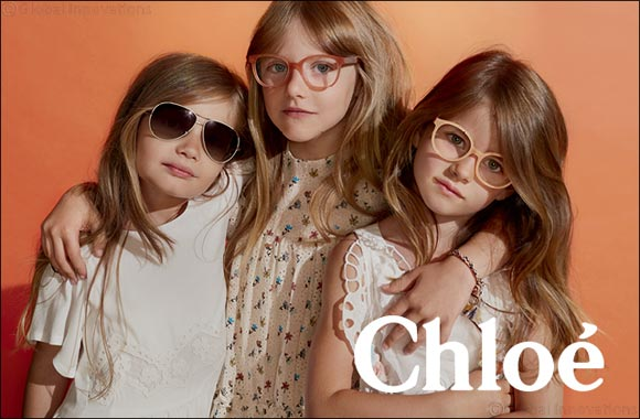 Chloe introduces the Daisy children's sunglass collection