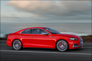 Sporty elegance � the new Audi A5 and S5 Coup�