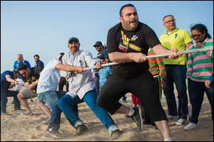 Game on! Fouad Alghanim & Sons Automotive Company hosts action-packed fun day as a thank you to empl ...