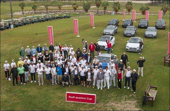 Great drive! Audi drivers swap highways for fairways in gripping Audi quattro Cup Kuwait 2017