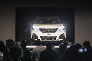 �The all-new PEUGEOT 3008 CUV makes Middle East debut'