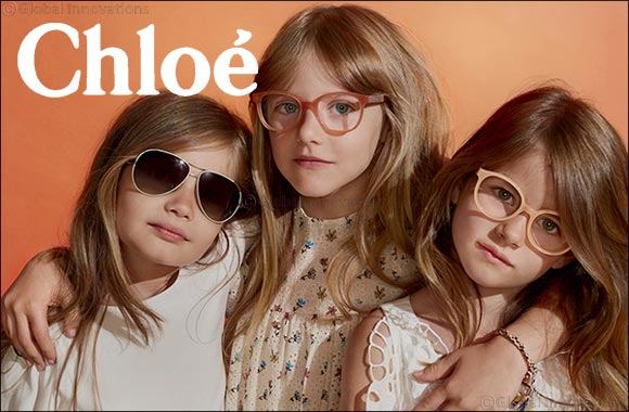 Grand Optics exclusive: Chloé Children eyewear collection.