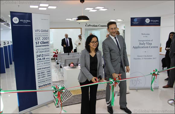 VFS Global extends network of Italy Visa Application Centres in the Middle East with new launch in Kuwait