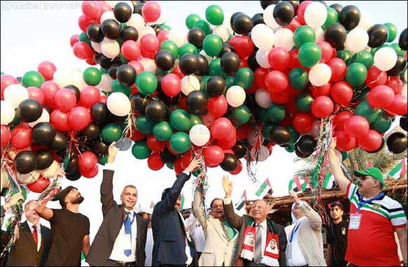UAE National Day celebrated in Skyline Carnival 2017