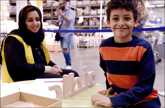 IKEA Welcomes Children in-store to Spread Love for the Arabic Language as Part of 'Arabic Reassembled' Initiative