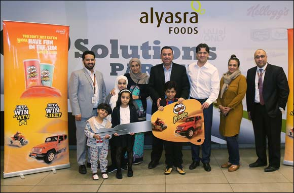 'Pringles Deserter' retail promotion winner announced