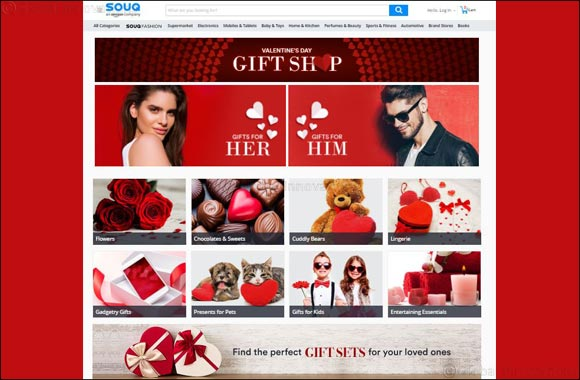 A Gift for Everyone on SOUQ.com's Valentine's Day Gift  Shop