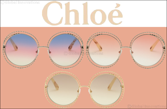"Chloé Reinterprets the Iconic ""Carlina"" Sunglass With an Exclusive Twist Motif"