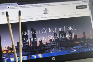 Symphony Style Hotel Kuwait introduces its latest green initiative - Sprout� plantable pencils
