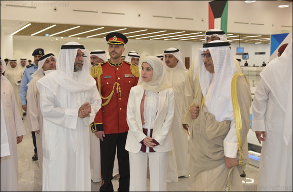 Kuwait's Prime Minister inaugurates Jazeera Airways terminal, honored as first passenger