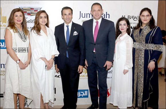 Jumeirah Messilah Beach Hotel & Spa holds a Stay Different TM Ghabka for key media and diamond sponsors
