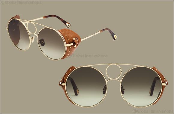 """Chloé Evokes the Wild Spirit of the Desert  In the New """"Sierra"""" Sunglasses"""