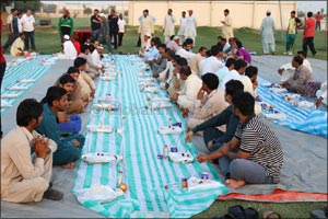 The Annual Skyline Iftar at Skyline University College