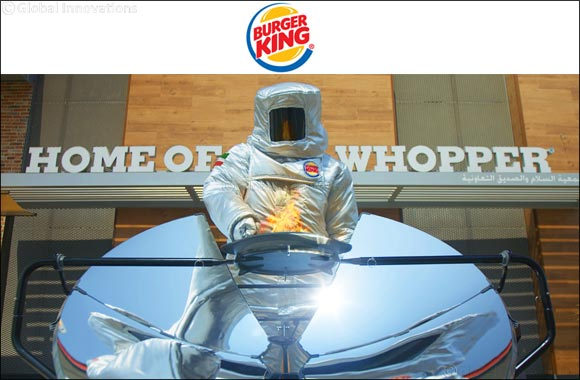 The Burger King® Brand Flame-grilled  Whopper® Sandwiches With the Power of the Sun in Kuwait