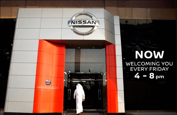 Nissan Al Rai Showroom Welcomes You on Fridays From 4 pm to 8 pm