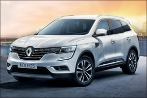 The Charismatic SUV - Renault Koleos Can Be Yours today!