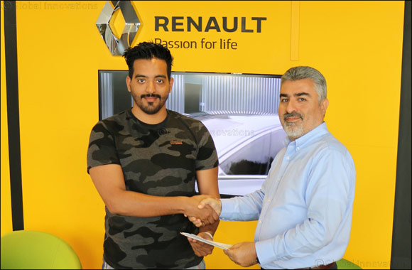 Renault Al Babtain Congratulates Lucky Winner of 'Trip to Paris' Campaign!