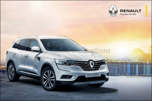 The Charismatic SUV - Renault Koleos comes with an attractive Instalment
