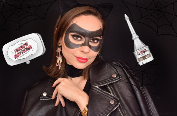 """Halloween """"Catwoman"""" mask using BROW products"""