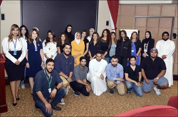 "Burgan Bank Hosts the ""Job Shadow"" Program in Collaboration with INJAZ Kuwait"