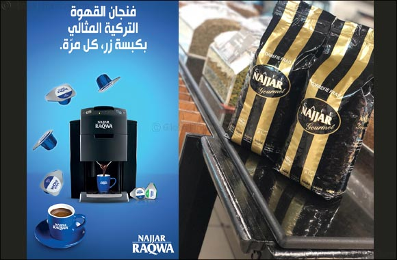 Alyasra Foods Launches Cafe Najjar's Revolutionary Najjar Raqwa in Kuwait