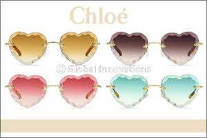 Chlo� Eyewear's Feminine Appeal Seen Through the Lens of the New �Rosie� Style