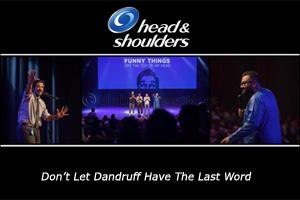 The mystery of dandruff jokes finally revealed