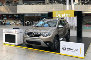 Renault Al Babtain Displays its unstoppable SUV � the all-new Duster �at The Avenues Mall