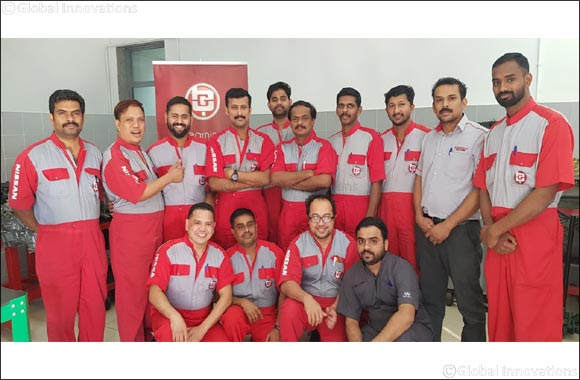 Al Babtain Group Trains Nissan Employees on  N-STEP 3 Program