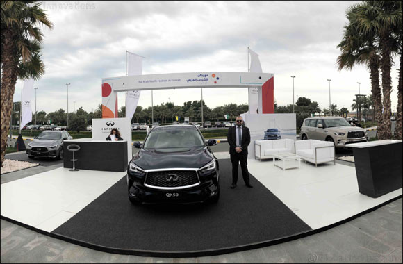 Infiniti Al Babtain Impresses Crowds with the New Infiniti Models at Al Murouj