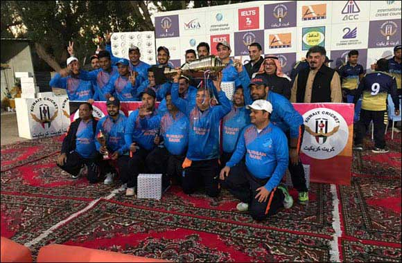 Burgan Bank's Cricket Team Wins Prestigious Kuwait Cricket Bank League Championship Cup Trophy