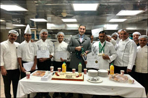 Culinary Specialists from Copthorne Kuwait City Hotel win 8 Awards at HORECA Kuwait 2019