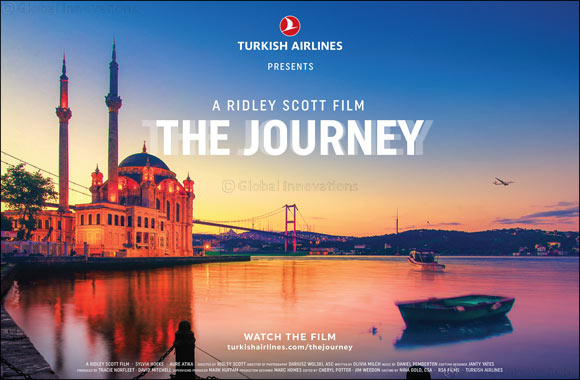 Turkish Airlines' journey to Istanbul Airport begins with a cinematic short film from the legendary Director Ridley Scott aired at Super Bowl LIII