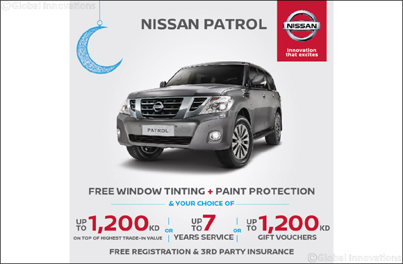 Celebrate Special Ramadan Offers on Nissan Patrol From Nissan Al-Babtain