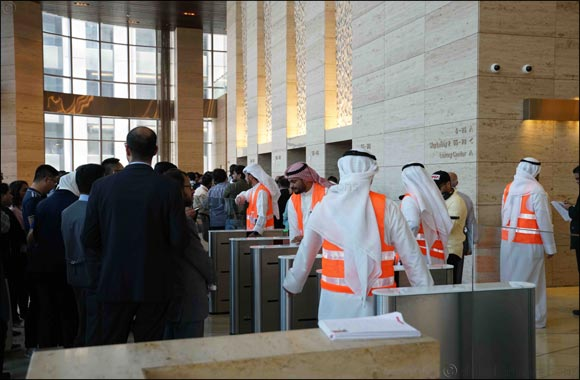 Al Hamra Real Estate Co. Conducts Emergency Evacuation Drill for Al Hamra Business Tower's employees and visitors
