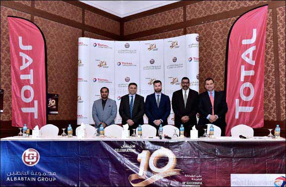 Al-Babtain and Total Marketing Middle East Celebrate 10 Years of Successful Partnership in Kuwait with their esteemed Commercial & OEM customers