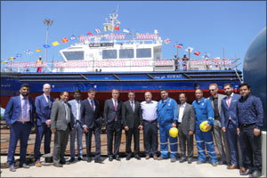 Grandweld Shipyards launches tenth boat of KOC fleet