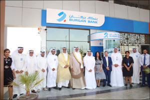 Burgan Bank Inaugurates New Branch in Sabah Al-Ahmad Sea City     Al Khiran District