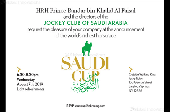 The World's Richest Horse Race to run in Saudi Arabia