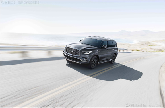 The INFINITI QX80 Built to Transform Driving Experiences